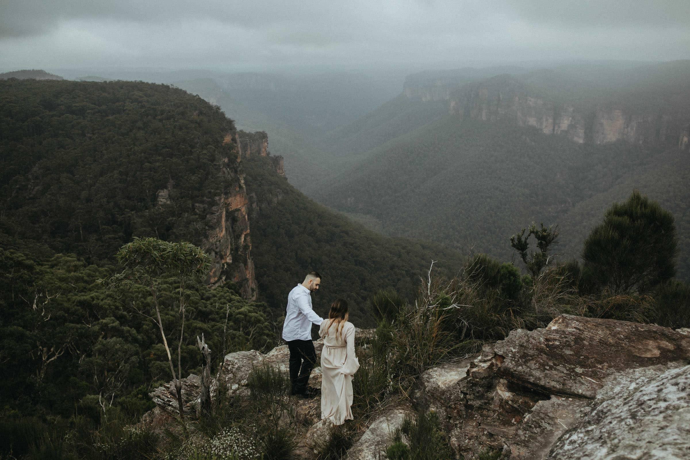 Blue Mountains elopement photographer